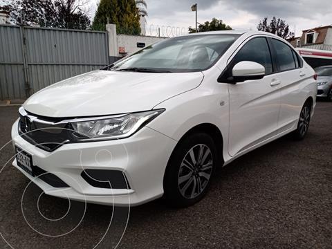 Honda City LX 1.5L Aut usado (2018) color Blanco precio $240,000