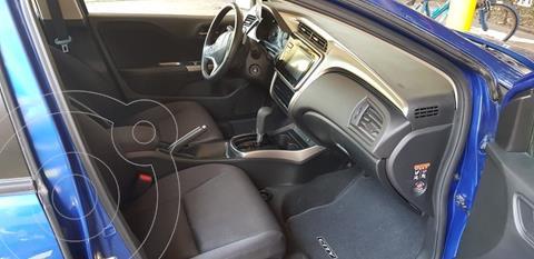 Honda City EX 1.5L Aut usado (2017) color Azul precio $116,000
