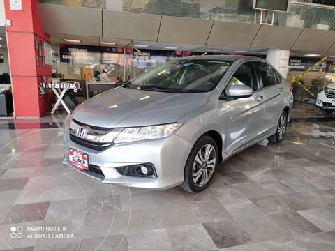 Honda City EX 1.5L usado (2017) color Plata Dorado precio $235,000