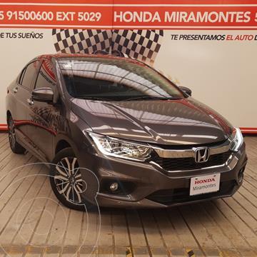 Honda City EX 1.5L Aut usado (2019) color Acero precio $280,000