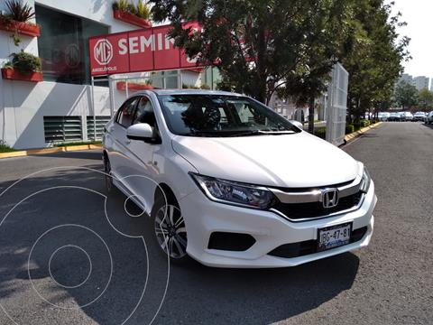 Honda City LX 1.5L usado (2018) color Blanco Marfil precio $225,000