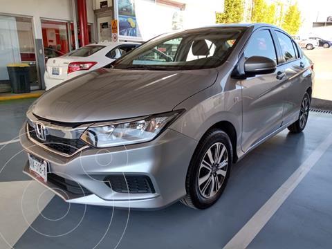Honda City LX 1.5L Aut usado (2018) color Plata precio $215,000