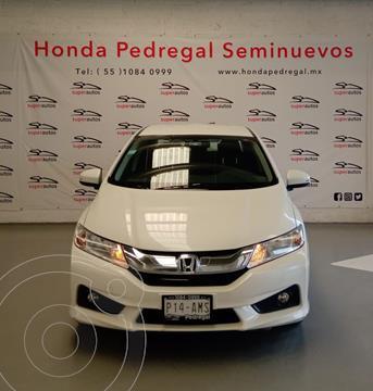 Honda City EX 1.5L usado (2017) color Blanco precio $204,000