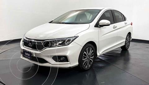 Honda City EX 1.5L Aut usado (2019) color Blanco precio $227,999