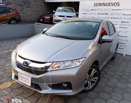 Honda City EX 1.5L usado (2017) color Plata Dorado precio $217,000