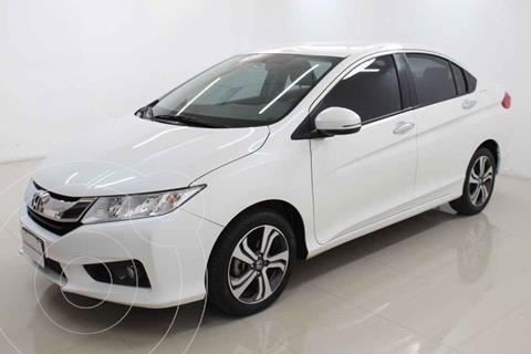 Honda City EX 1.5L Aut usado (2017) color Blanco precio $239,000