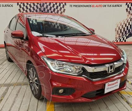 foto Honda City EX 1.5L Aut usado (2018) color Rojo precio $245,000