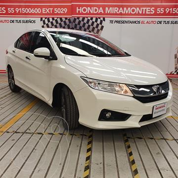 Honda City EX 1.5L Aut usado (2017) color Blanco Marfil precio $225,000