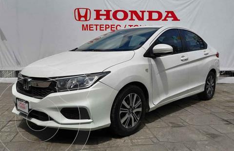 Honda City LX 1.5L usado (2018) color Blanco precio $209,900