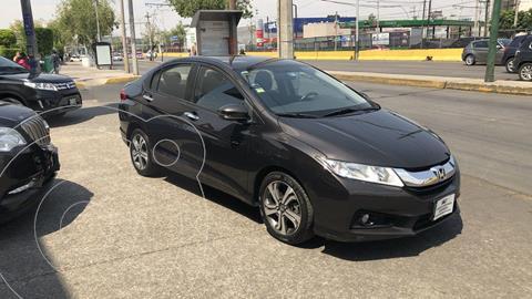 Honda City EX 1.5L Aut usado (2016) color Oro financiado en mensualidades(enganche $55,683 mensualidades desde $4,070)