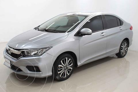 Honda City EX 1.5L Aut usado (2020) color Plata precio $298,000