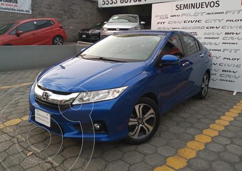 Honda City EX 1.5L Aut usado (2017) color Azul precio $210,000