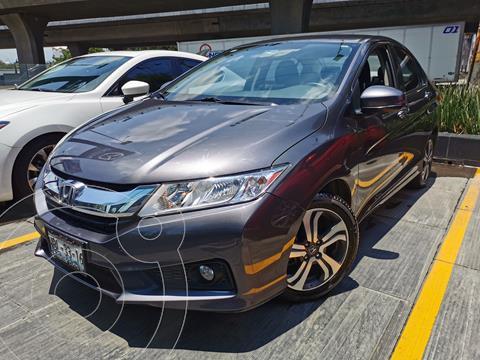 Honda City EX 1.5L Aut usado (2017) color Gris precio $230,000
