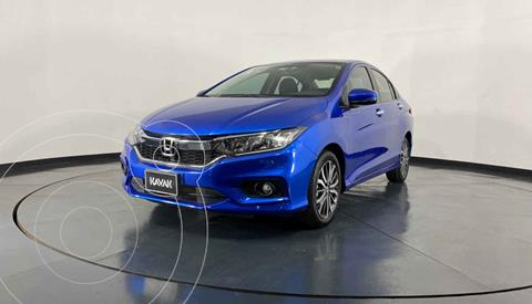 Honda City EX 1.5L Aut usado (2019) color Azul precio $277,999