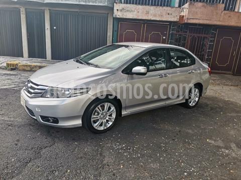 Honda City EX 1.5L Aut usado (2013) color Plata Diamante precio $138,000