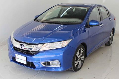 Honda City EX 1.5L Aut usado (2019) color Azul precio $239,000