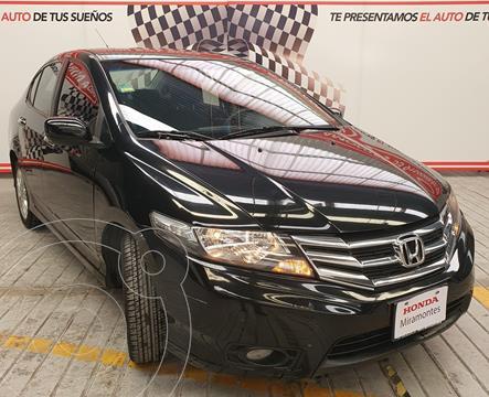 Honda City EX 1.5L usado (2013) color Negro financiado en mensualidades(enganche $90,000 mensualidades desde $8,519)