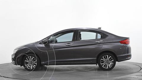 Honda City EX 1.5L usado (2020) color Gris precio $246,690