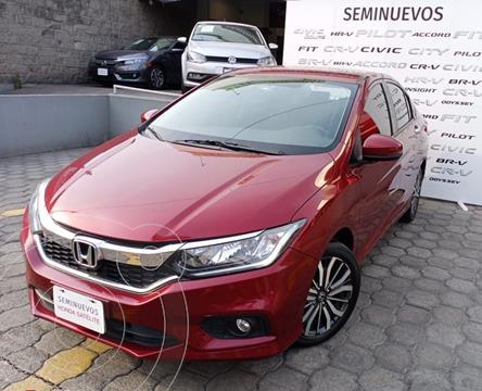 Honda City EX 1.5L usado (2018) color Rojo precio $233,000