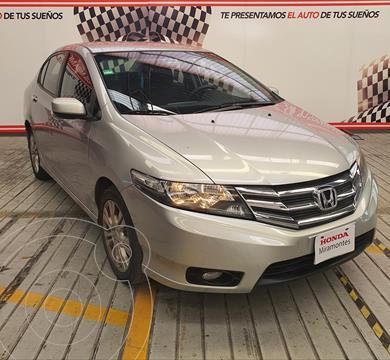 Honda City EX 1.5L usado (2013) color Plata precio $175,000