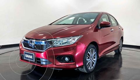 Honda City EX 1.5L Aut usado (2020) color Rojo precio $267,999