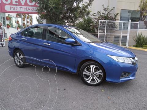 Honda City EX 1.5L Aut usado (2017) color Azul precio $235,000
