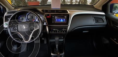Honda City EX 1.5L Aut usado (2017) color Azul precio $115,000