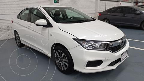 Honda City LX 1.5L Aut usado (2018) color Blanco precio $234,000