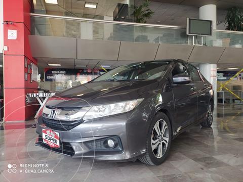 Honda City EX 1.5L usado (2016) color Gris precio $209,000