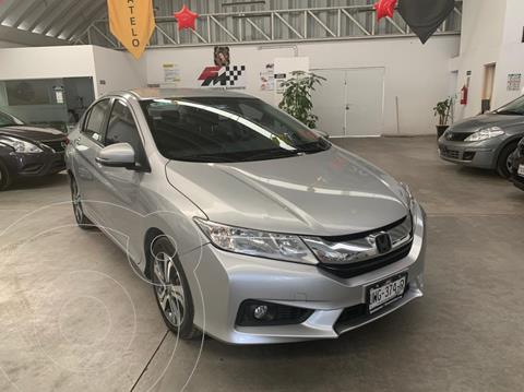 Honda City EX 1.5L Aut usado (2016) color Plata Diamante financiado en mensualidades(enganche $54,813 mensualidades desde $3,984)