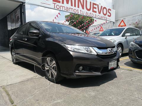 Honda City EX 1.5L Aut usado (2016) color Negro precio $219,800