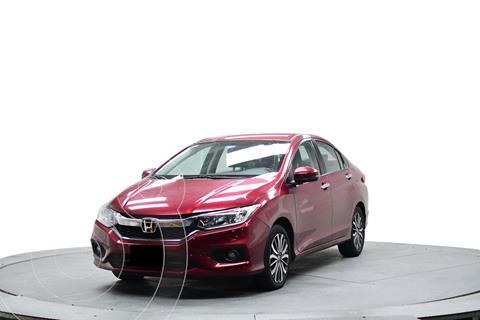 Honda City EX 1.5L usado (2018) color Rojo precio $264,700
