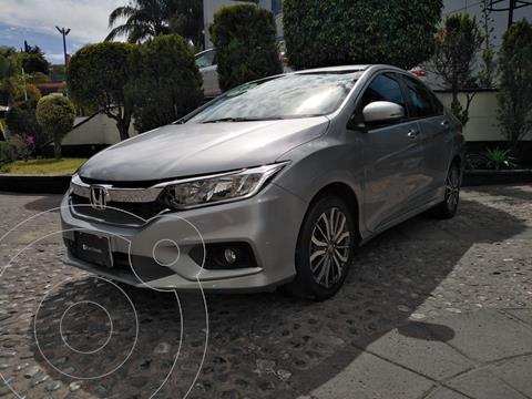 Honda City EX 1.5L Aut usado (2018) color Plata precio $229,000