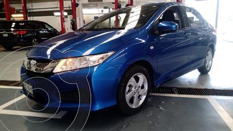 Honda City LX 1.5L usado (2017) color Azul Acero precio $192,000