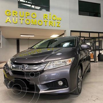 Honda City EX 1.5L usado (2016) color Gris Oscuro precio $195,000