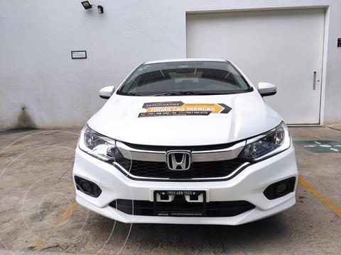 Honda City EX 1.5L usado (2020) color Blanco precio $284,500