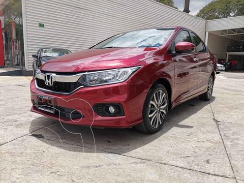 Honda City EX 1.5L Aut usado (2020) color Rojo precio $309,000