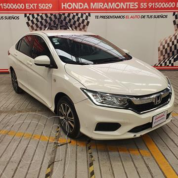 Honda City LX 1.5L Aut usado (2018) color Blanco Marfil financiado en mensualidades(enganche $58,500 mensualidades desde $5,346)
