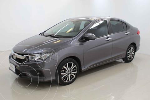 Honda City EX 1.5L Aut usado (2018) color Plata precio $245,000