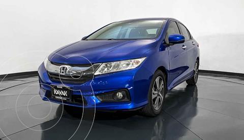 Honda City EX 1.5L Aut usado (2017) color Azul precio $217,999