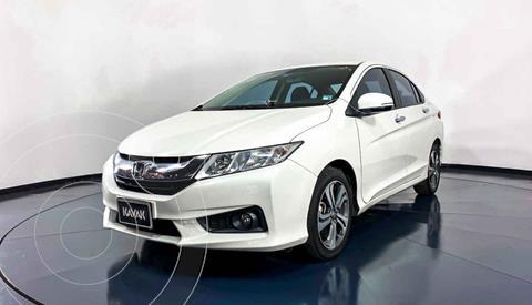 Honda City EX 1.5L Aut usado (2014) color Blanco precio $172,999