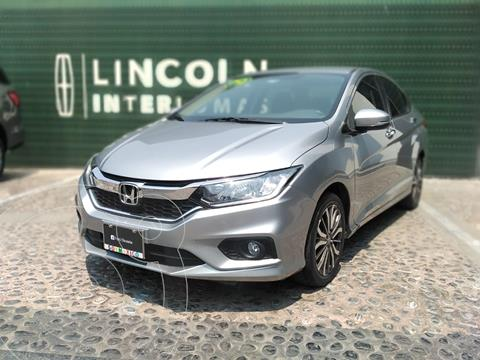 Honda City EX 1.5L Aut usado (2019) color Plata financiado en mensualidades(enganche $57,250)
