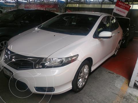 Honda City LX 1.5L usado (2013) color Blanco financiado en mensualidades(enganche $43,531 mensualidades desde $5,456)