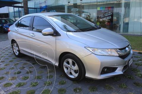 Honda City EX usado (2014) color Plata precio $165,000