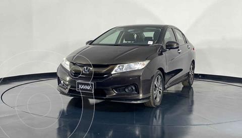 Honda City EX 1.5L Aut usado (2014) color Cafe precio $174,999