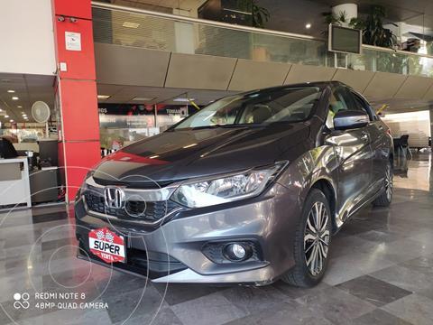 Honda City EX 1.5L usado (2018) color Gris Oscuro precio $267,000