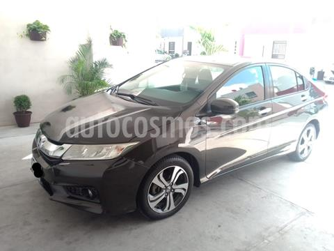 Honda City EX 1.5L Aut usado (2015) color Bronce precio $160,000