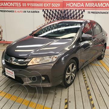 Honda City EX 1.5L usado (2014) color Gris financiado en mensualidades(enganche $100,000 mensualidades desde $5,000)