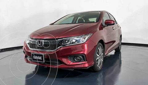 Honda City EX 1.5L Aut usado (2019) color Rojo precio $242,999