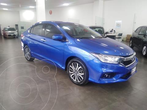 Honda City EX 1.5L usado (2018) color Azul precio $235,000